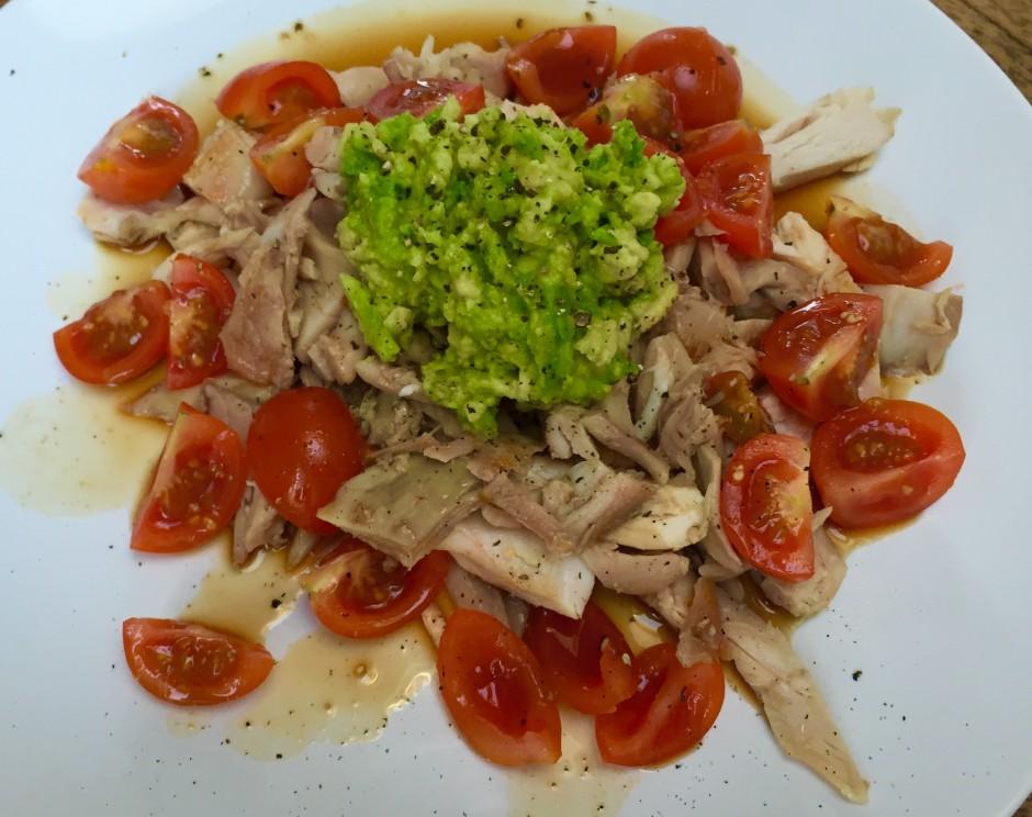 Chicken Avocado Salat