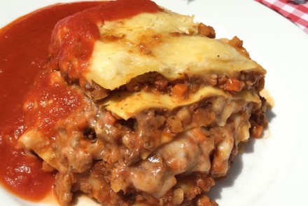 Lasagne Einhorn