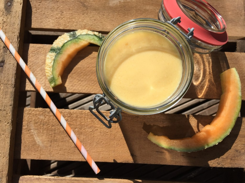 Ananas Cantaloupe Smoothie