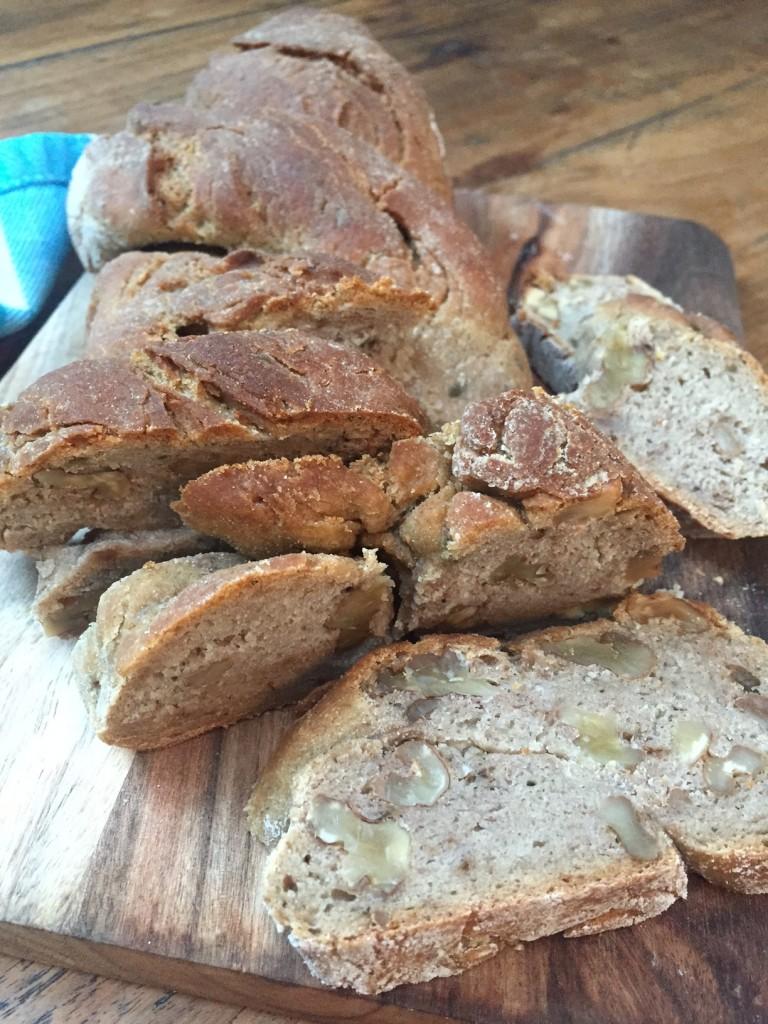 Roggen Walnuss Brot