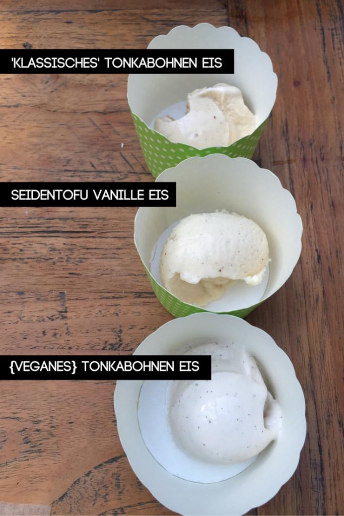 {veganes} tonkabohnen Eis