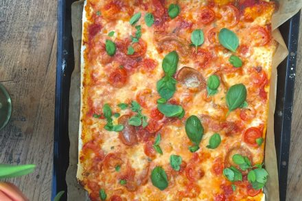 bestes Rezept pizza margherita